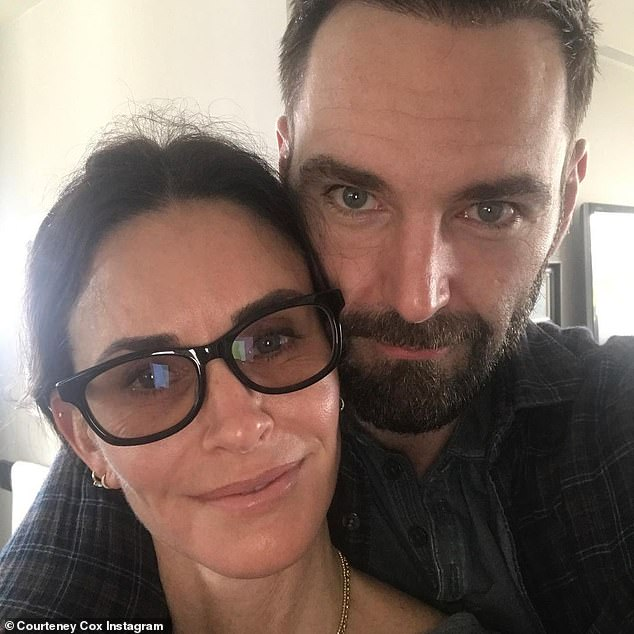Closer look: Courteney also shared a second snap, which gave her 11.6million followers another look at her and her beau's obvious chemistry