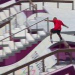 Tokyo Olympics: Peruvian skateboarder Angelo Caro Narvaez suffers eye-watering crash 💥👩💥