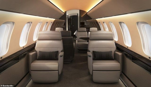 Every seat has an extra-large window and the ambient lighting simulates daylight across time zones to encourage sleeping patterns that will keep jet lag at bay