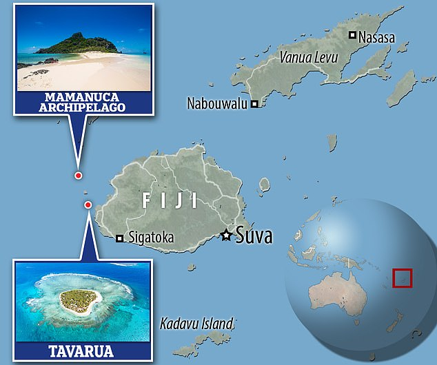 Page has spent months in Fiji during the pandemic - mostly on the island of Tavarua - and it has been rumoured the billionaire has bought at least one island in the country's Mamanuca archipelago