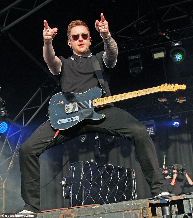 Reunited: McFly formed in 2003 and in 2019 the band announced a new album of unreleased material and a concert at the O2 Arena