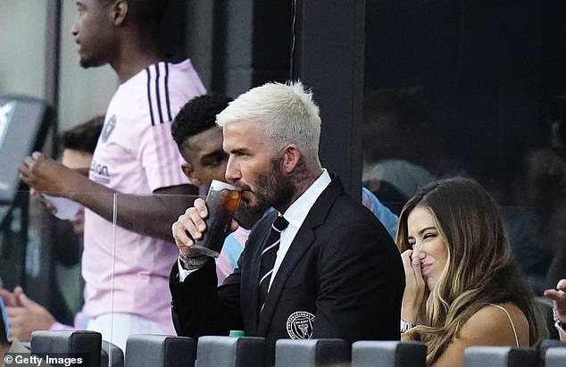 Inter Miami co-owner David Beckham was in the stands to cast his eye over the strugglers