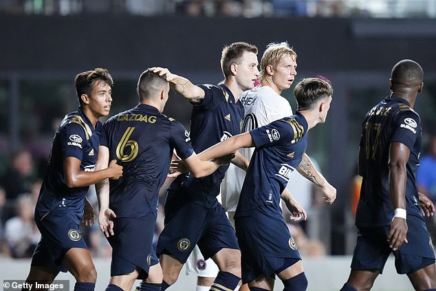 However, Miami were denied all three points when Philadelphia Union equalised on 85 minutes