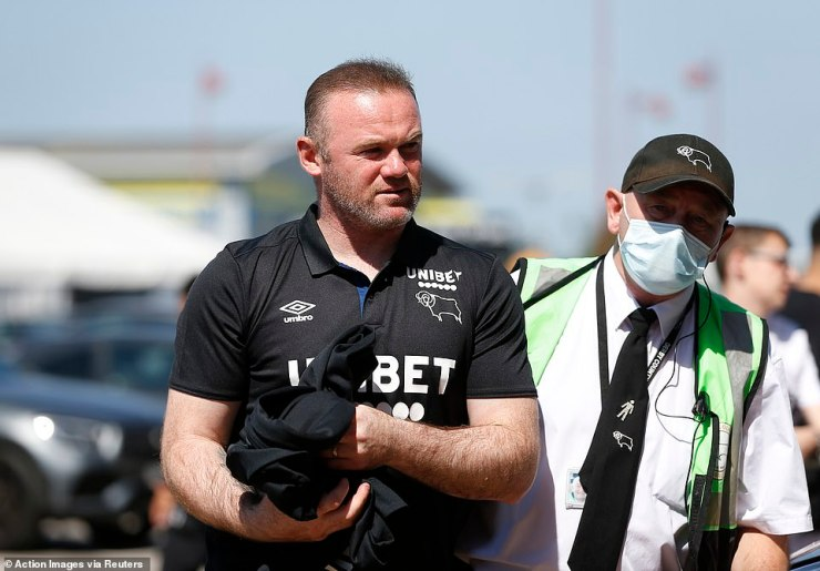 Rooney is currently busy preparing his Derby side for the new Championship season, which kicks off in a fortnight's time