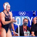 US water polo captain Maggie Steffens returns from bloody cut on nose in dramatic win over China 💥👩💥