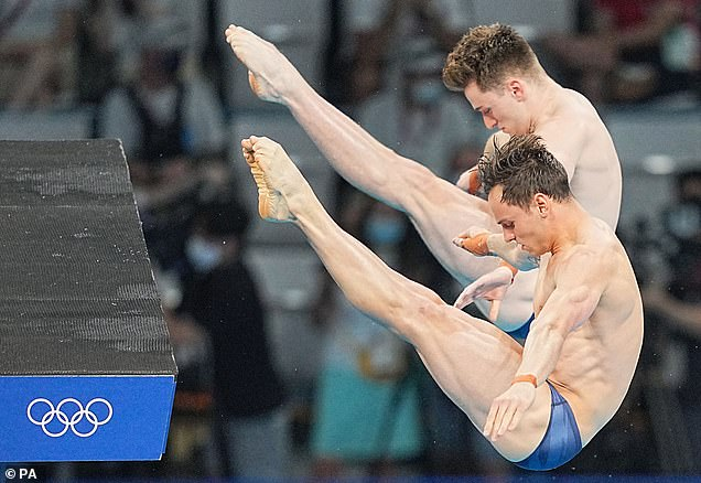 They did it! Tom and Matty, 23, beat China by just 1.23 points after a nerveless display as Daley collected his third Olympic medal