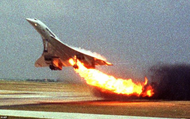 Concorde's Air France Flight 4590 (pictured) crashed during take-off on this day 21 years ago, killing all 109 people onboard. A little over three years later, the global Concorde fleet was retired. But whilst the ultra-fast plane remains a global icon, its Russian-built competitor is far less well-known