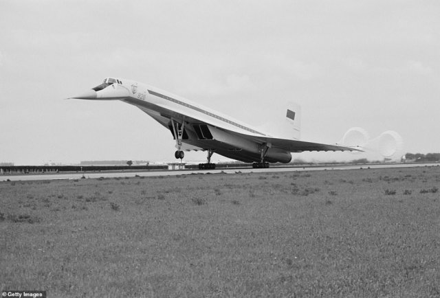 Named after A.N. Tupolev, the Soviet engineer who designed it, the plane was wheeled out of a secret hangar and successfully completed a 38-minute trip at record-setting speeds