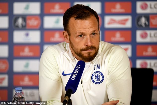 Swansea have held discussions with Jody Morris (above) about becoming their new manager