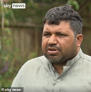 Widower Waris Ali, 40, said his son and friend were playing on the pier and at the end of the pier, his friend put his foot into the water and fell in. The BBC reported that only Mr Asim was able to swim