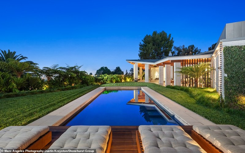 Gross purchased the home from comedian Ellen DeGeneres and her wife Portia di Rossi for $35million in 2015 after DeGeneres had flipped the property
