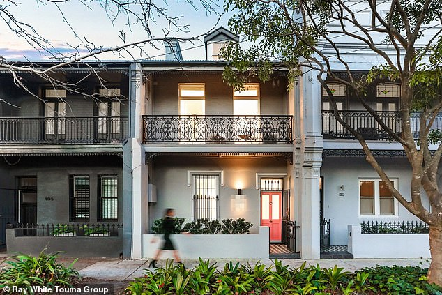 Borne from fantasy: Children's authors Beck and Robin Feiner have put their cosy Redfern designer house on the market with a price guide of $2.8million