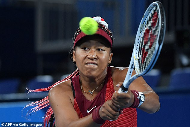 Naomi Osaka was a shock elimination in the women's singles as she was beaten in straight sets
