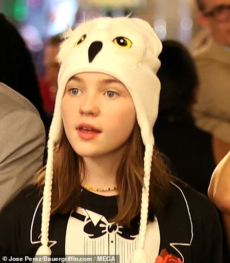 Leading lady:The role will now be taken on by Alexa Swinton, 12, best known for her role as Eva Rhoades in the Showtime series Billions. She can currently be seen in M. Night Shyamalan's thriller feature film, Old