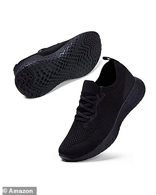 The technology in these shoes is especially impressive given the low price point, with the midsole cushion designed to disperse impact away from your body so you can wear them for hours without any pain