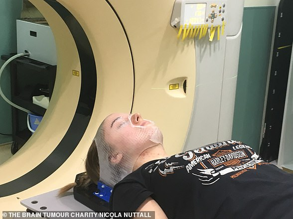 Ms Nuttall underwent radiotherapy after surgery, along with chemotherapy