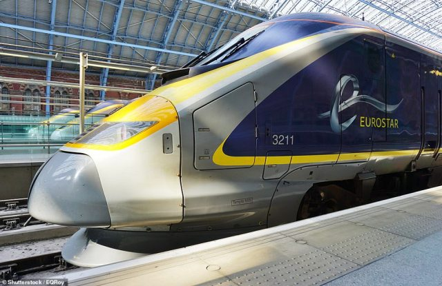 After 'Anna' managed to steal the £4.2million worth of diamonds, she changed her clothes in a nearby Wetherspoons pub before fleeing to Kings Cross station to travel back to Paris via Eurostar