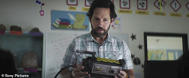 He knows this is not good: Paul Rudd plays a man who looks into the small box grandpa left