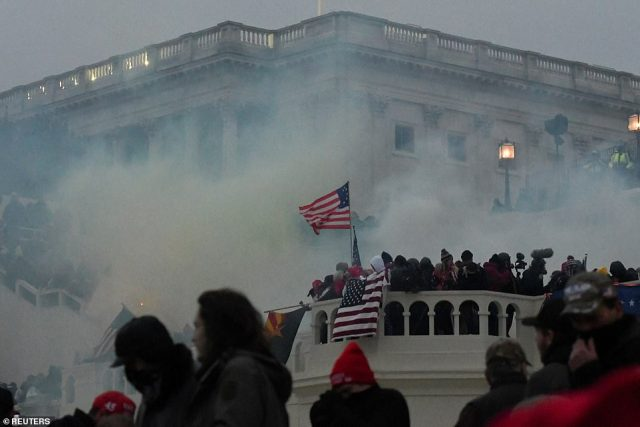 Thousands of Donald Trump supporters swarmed the Capitol on January 6th