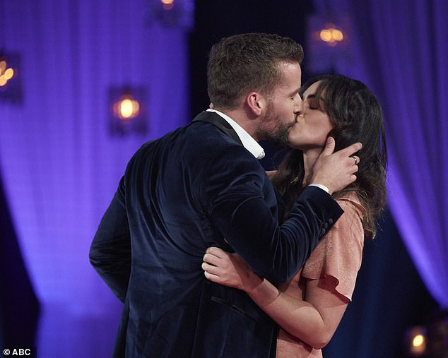 Redemption: Bachelorette contestant Connor B finally proved he isn't a 'bad kisser' on Men Tell All when he kissed audience member Tara Kelly in what sources told DailyMail.com was an 'amazing' first kiss