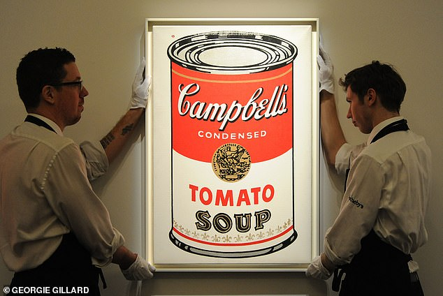 The new design remains little changed from the mid-century version Warhol further popularized