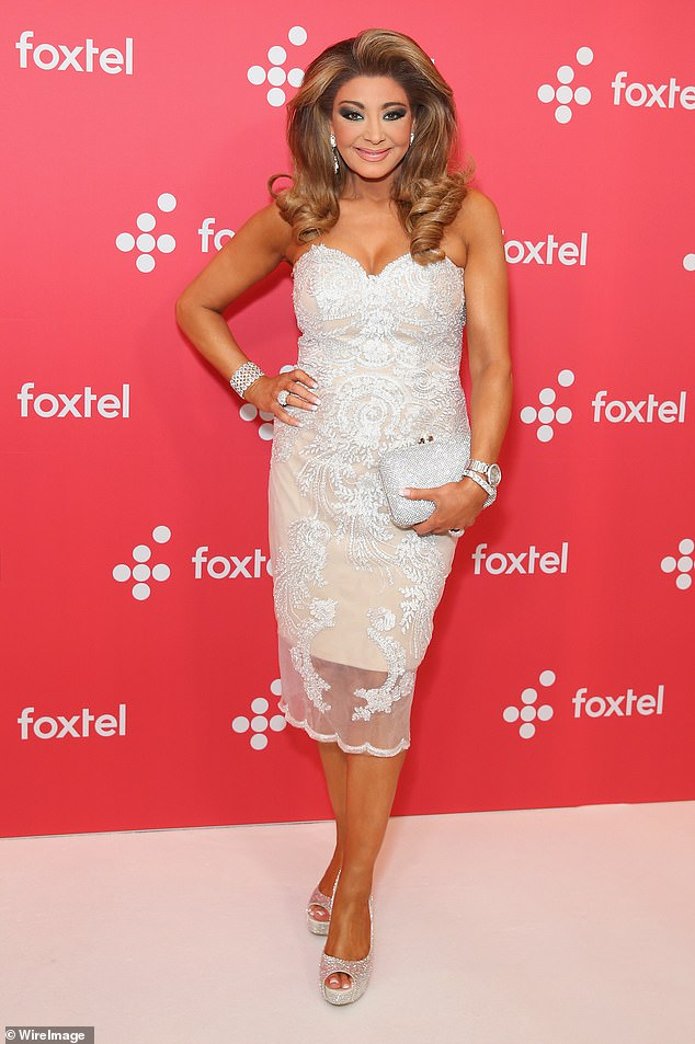 Star-studded: 'Ian Dickson, Sophie Monk and Gina Liano could be back in the boardroom sooner rather than later,' the source told New Idea. Pictured: Gina Liano