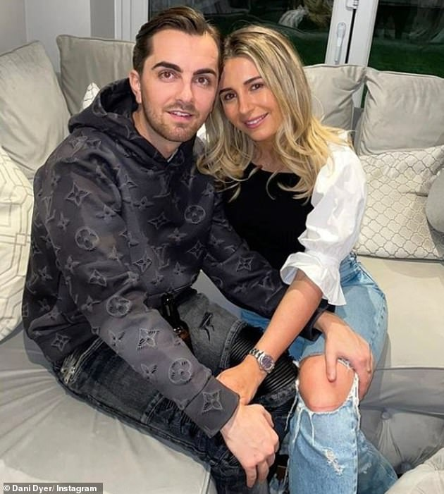 Ex: Dani broke up with Sammy Kimmence after he lied to her about his crimes before being sentenced to three years in jail (Dani and Sammy are pictured together in March)