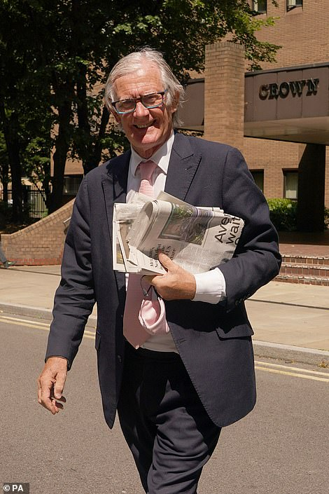 Nicholas Wainwright, Chairman of Boodles, which was hit by a £4.2million diamond theft