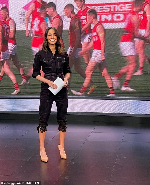 Romance:Abbey Gelmi recently confirmed her romance with AFL star Kane Lambert. But before finding love with the footy player, she was married to Sky News presenter Ben Way