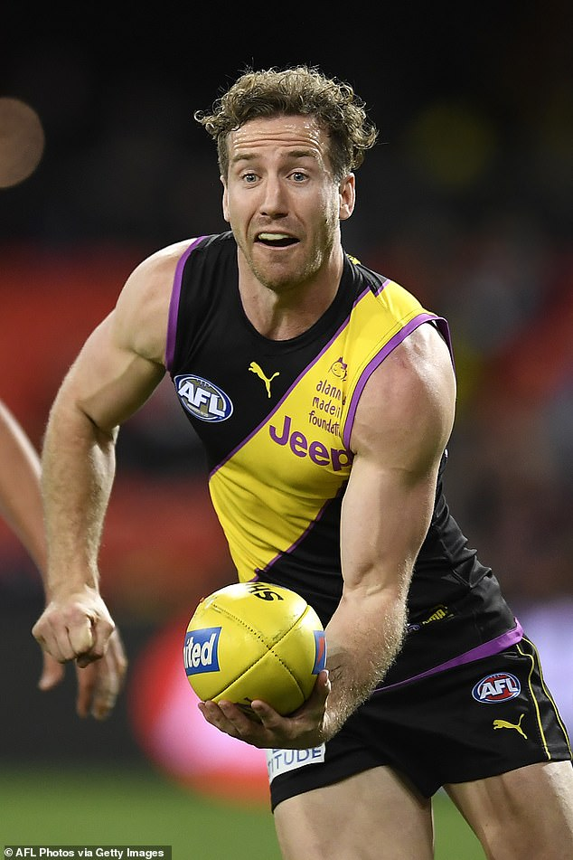 New love:The sports presenter, 31, told the Herald Sun on Friday: 'Kane's really good'