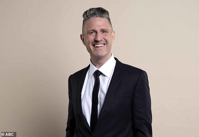 Still going strong: The series, which offers a light look at the advertising industry, had previously been the subject of rumors it was facing the ax.  Pictured: Host Wil Anderson
