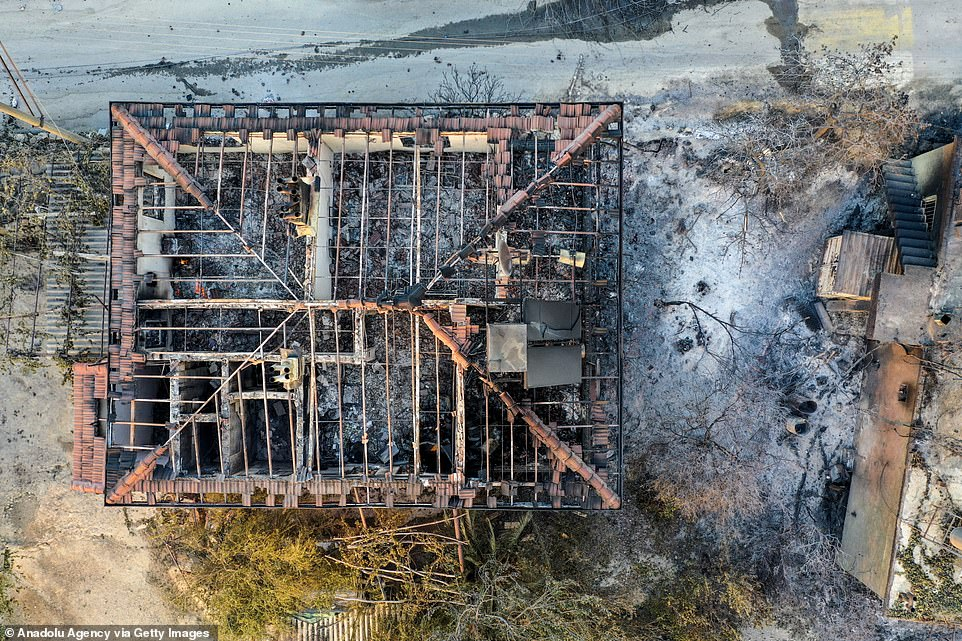 Firefighters and rescue teams were working to extinguish the fire into Thursday after it spread rapidly, fanned by strong winds, on Wednesday
