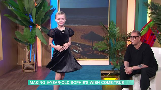 On Her Bucket List, Sophie Wanted to Walk the Runway, This Morning Presenter Gok Wan Helped Her Program