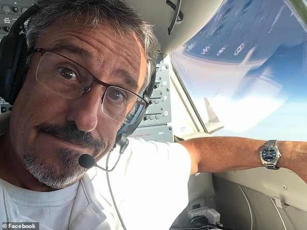 Bret Ebaugh was identified as the pilot in the fatal crash on Monday