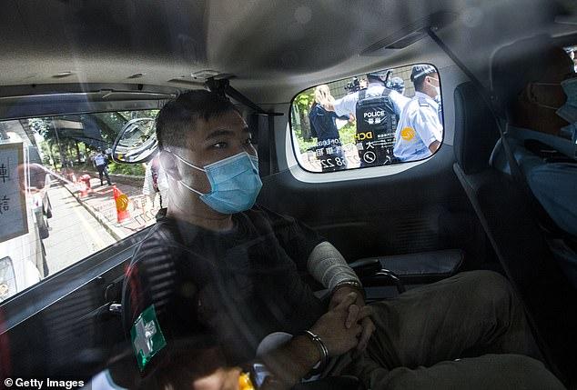 Tong Ying-kit, 24, the first person to be convicted under Hong Kong 's national security law, was jailed for nine years on Friday
