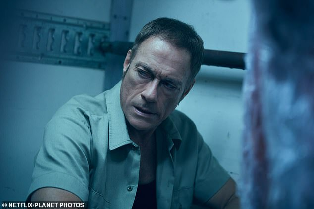 Van Damme had been in Paris to promote the release of his new Netflix action film The Last Mercenary (pictured) - which ironically features an e-scooter chase