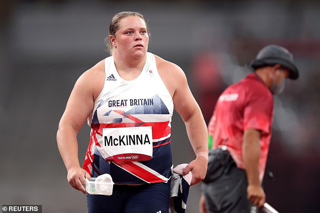 Sophie McKinna has confirmed that she was one of six Team GB stars to be pinged by NHS app