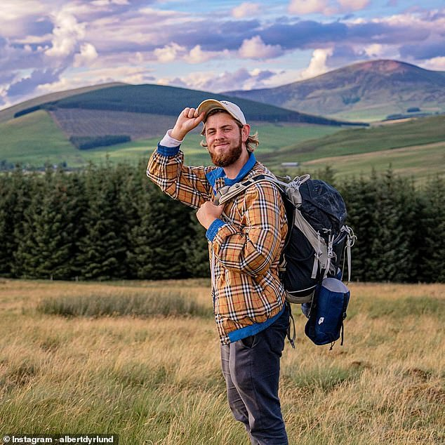 Mr Dyrlund's (pictured in Scotland last year) death was also confirmed by Denmark's Ministry of Foreign Affairs to Ekstra Bladet, a tabloid based in Copenhagen. According to local media, he fell fromMount Seceda in the Dolomitesa limestone mountain range in the Southern Limestone Alps known for their steep cliffs