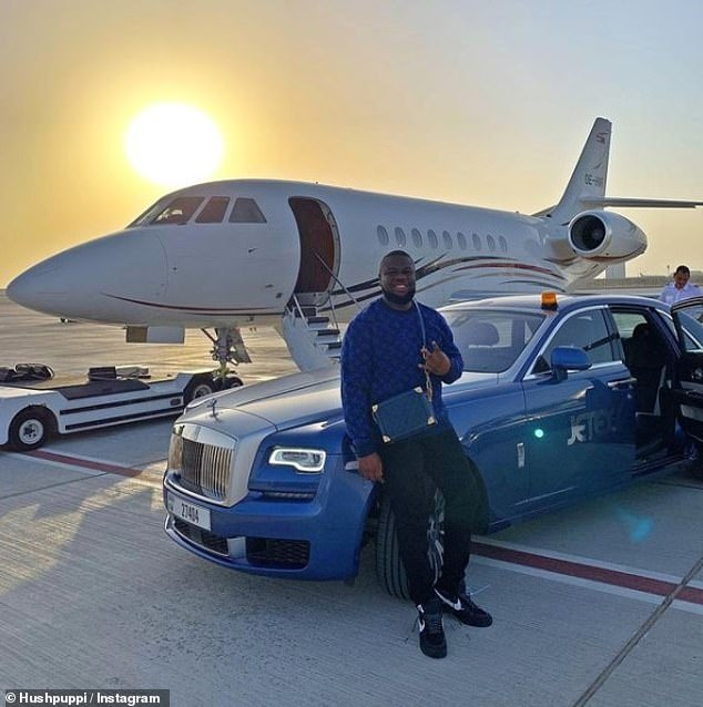 Abbas was arrested last year at his Dubai penthouse where FBI agents found some $40million in cash alongside 13 luxury vehicles and details of millions of potential victims
