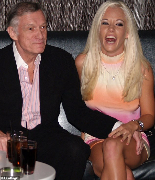 Kendra and Hugh: Early in her career Kendra was a Playboy model and she rose to fame on the reality show The Girls Next Door about Hugh Hefner's Girlfriends