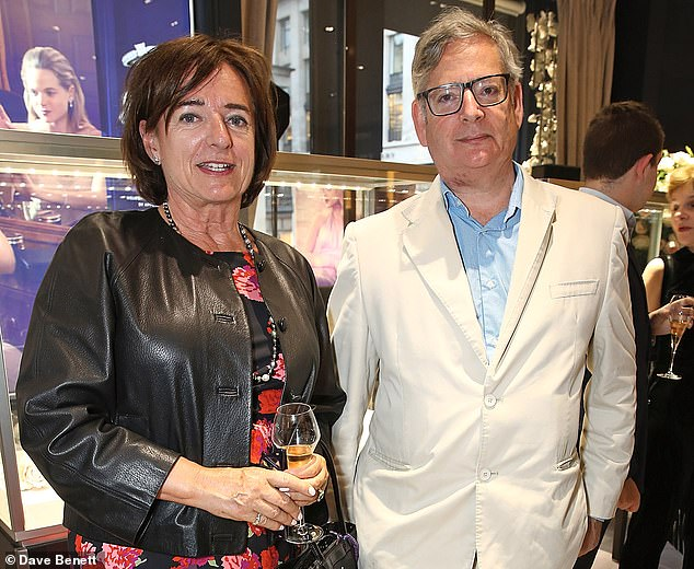 Her outburst delighted daughter Rosa – wife of Dominic  Lawson (both pictured) – who said her mother has been wrongly accused of owing £1,500 to a water firm