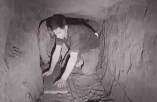 How do you dig a tunnel into the world¿s most heavily guarded country? How do you find somewhere safe to dig from and somewhere safe to dig to?