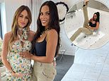 Rochelle Humes throws a very lavish baby shower for her friend Georgina Cleverley