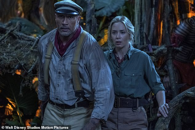 'Decent family flick': The Guardian's Wendy Ide gave Jungle Cruise three out of five stars, writing that the two likeable leads 'fail to gel on screen'