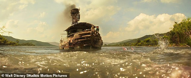 """'You've seen this film': Rolling Stone's David Fear called Jungle Cruise 'a journey in to the heart of """"blah""""-ness' and a 'vintage, colonialism-a-go-go boat ride'"""