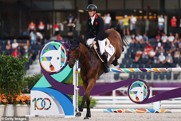 Great Britain's eventing team won the gold medal for the first time since the 1972 Olympics