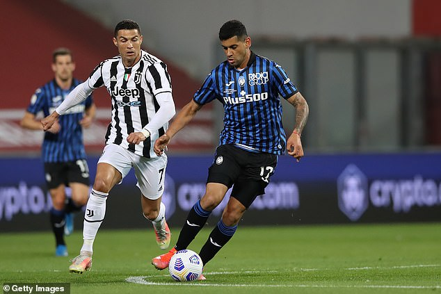 Cristian Romero (right) only joined from Juventus permanently in June following a loan spell