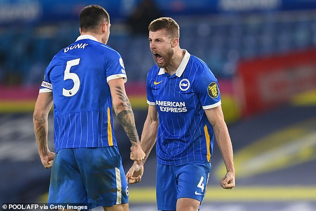 Webster joined Brighton for a club record £22m from Bristol City in 2019 and has stepped up