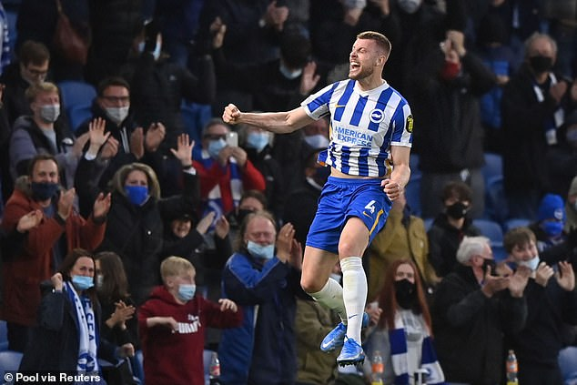 Adam Webster signed a five-year contract with Brighton after impressing in the last two years