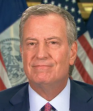 New York City Mayor Bill de Blasio and Governor Andrew Cuomo will both give updated advice on masks for vaccinated people on Monday
